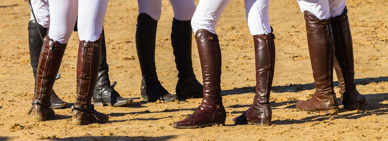 Equipride Ayra Bottes d/équitation longues pour enfant Noir