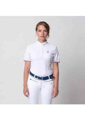 Polo de concours femme Aerial