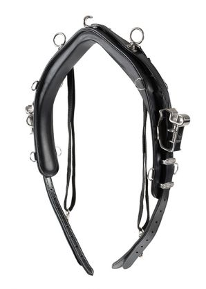 Sellette de harnais cuir QH Elite